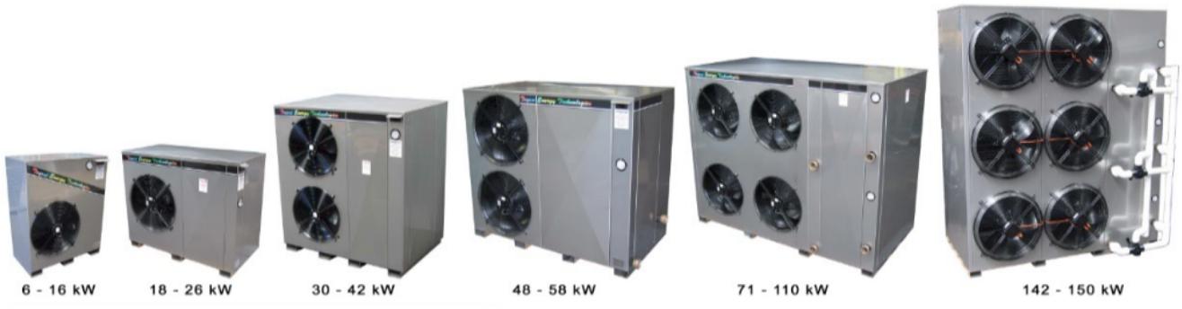 tet heat pump series - Industry - Swimming Pools & Spas
