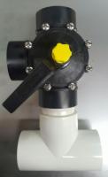 Three way bypass valve