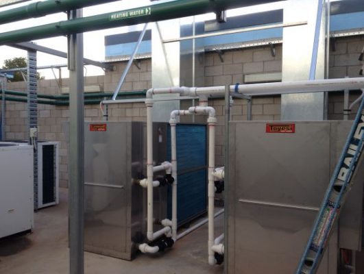Two TET 2400 (110 kW) systems with Top Mounted Vent Funnels.