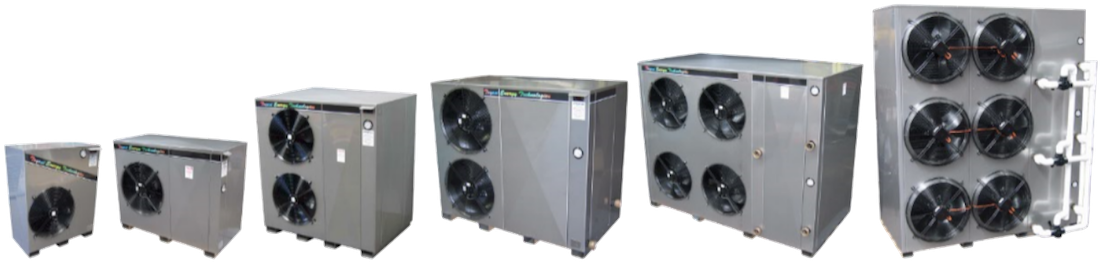 tet heat pump series 04 - Industry - Swimming Pools & Spas