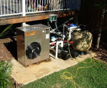 heat pump placement 432x356 - Project Pages - Swimming Pool