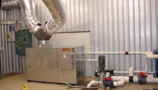 inplant setup at barra farm 525x300 - Project Pages - Trident Aquaculture